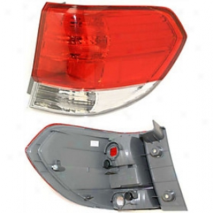 2008 Honda Odyssey Tail Ligt Re-establishment Honda Tail Light Arbh730107 08