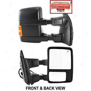 2009-2010 Ford F-450 Super Duty Mirror Kool Vue Ford Reflector Fd129er-s 09 10