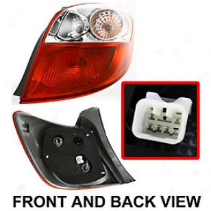2009-2011 Toyota Matrix Tail Gay Replacement Toyota Tail Light Rept730125 09 10 11