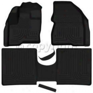 2009-2012 Ford Flex Floor Mats Husky Liners Ford Floor Mats 98741 09 10 11 12