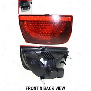 2010-2011 Chevrolet Camaro Tzil Light Replacement Chevrolet Tail Light Repc730123 10 11