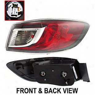 2010-2011 Mazda 3 Tail Light Replacement Mazda Tail Light Repm730129 10 11