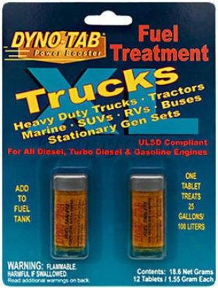 Fuel Additive Dyno Tab Powet Booster  Firing Additive 45451