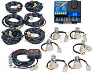 Strobe Light Kit Wolo Manufacturing  Strobe Light Kkt 8006-1-6c
