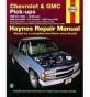 1992-1994 Chevrolet Blazer Repair Manual Haynes Chwvrolet Repair Mnaual 24065 92 93 94