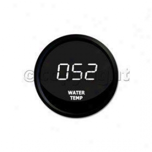 Water Temperature Gauge Intellitronix  Water Temperature Gauge M9013-w