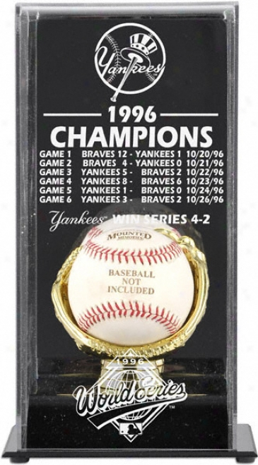 1996 New York Yankees World Series Champs Parade Case