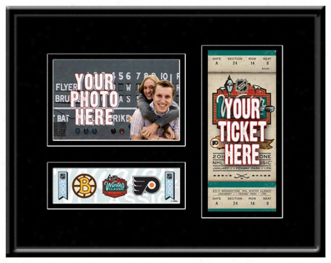 2010 Winter Classic Game Day Ticket Frame