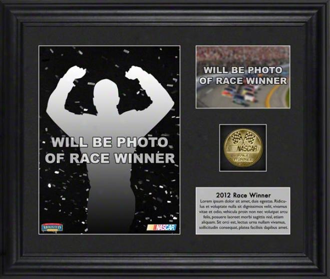 2012 Gatorade Duel 1 Generation At Daytona International Speedway Matt Kenseth Race Winner Framed 6x8 Photo  Details: W/ Plate And Gold Coin, L.e. Of 317