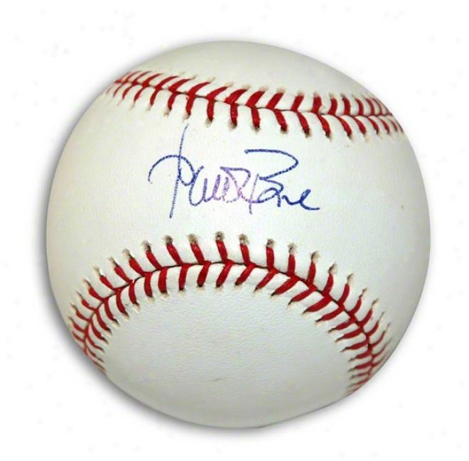 Aaron Boone Autogra0hrd Mlb Baseball
