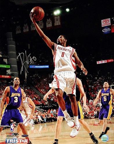 Aaron Brooks Autographed Houston Rockets 16x20 Photo