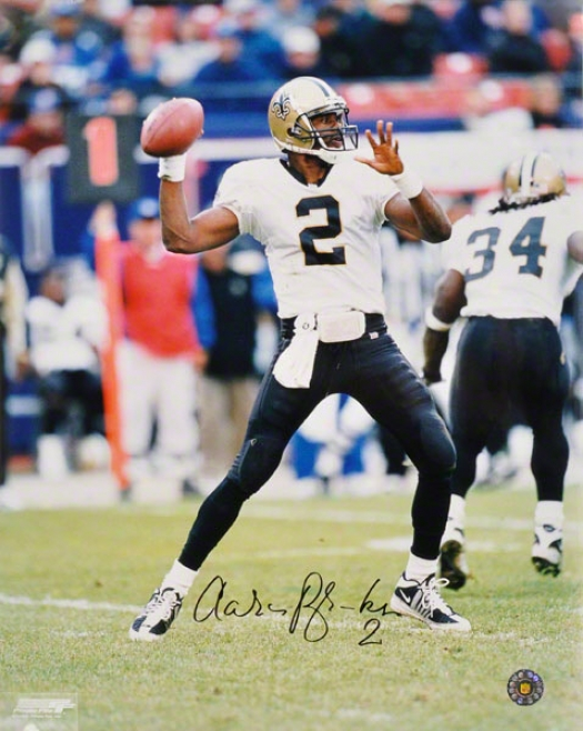 Aaron Btooks New Orleans Saints 16x20 Autographed Photograph