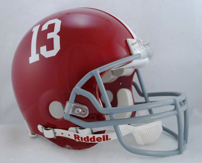 Alabama Crimson Tidr Trustworthy Pro Line Riddell Full Size Helmet