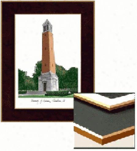 Alabama Crimson Tide Collegiate Laminated Lithograph