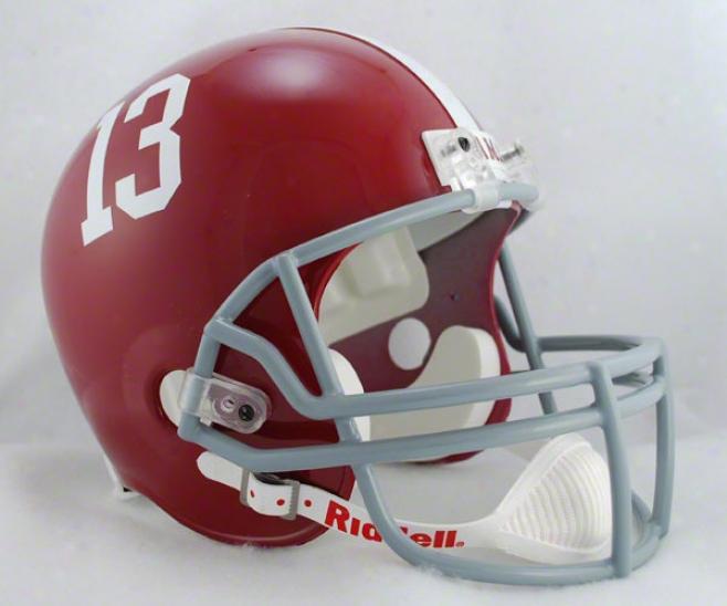 Alabama Crimson Tide Deluxe Replica Riddell Helm