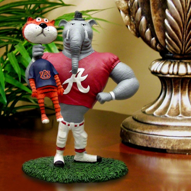 Alabama Crimson Tide Lester Single Choke Rivalry Figurine