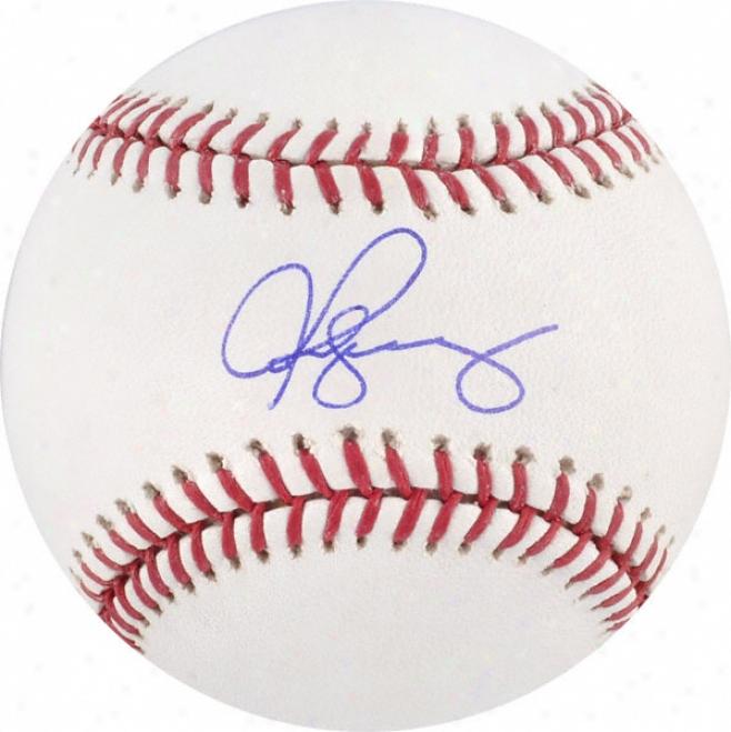 Alex Rodriguez Autographed Baseball