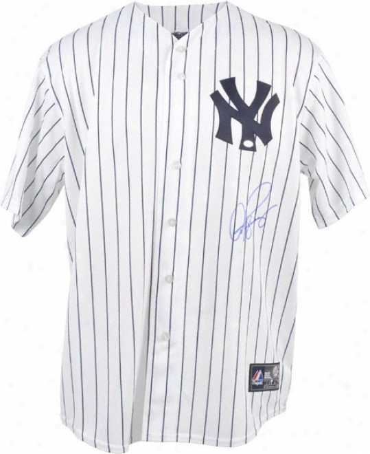 Alex Rodriguez Autographed Jersey  Details: New York Yankees, Majestic Home Replica