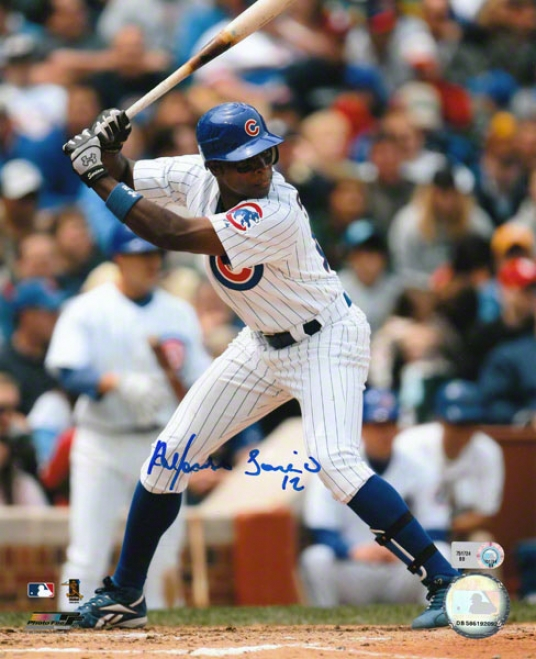 Alfonso Soriano Chicago Cubs Autographed 8x10 Photo