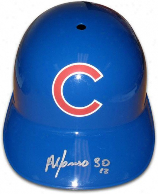 Alfonso Soriano Chicago Cubs Autographed Full-size Replica Batting Helmet