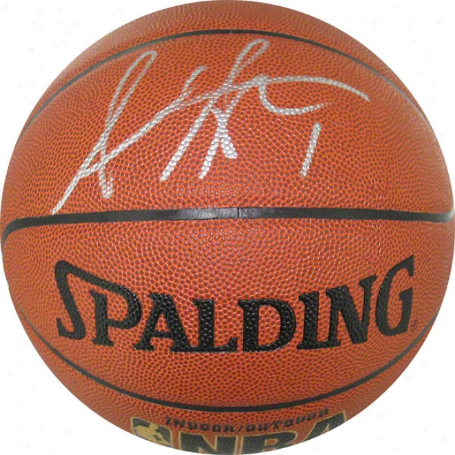 Amar'e Stoudemire New York Knicks Autographed Basketball