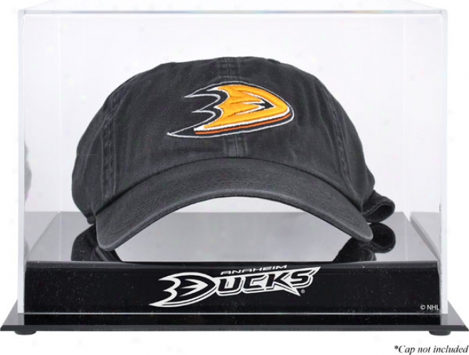 Anaheim Ducks Acrylic Cap Logo Display Case