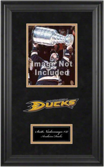 Anaheim Ducks Deluxe 8x10 Team Logo Frame