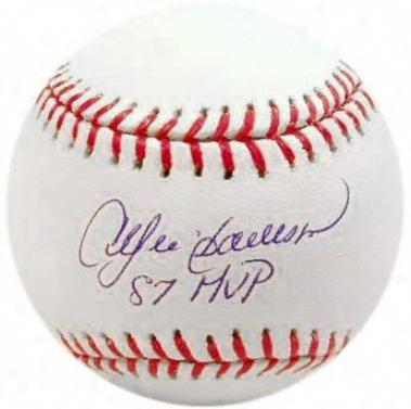 Andre Dawson Autographed Baseball  Details: &quot87 Mvp&quot Inscription