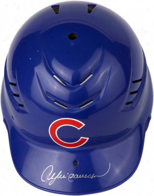 Andre Dawson Chicago Cubs Autographed Cool-flo Rep Batting Helmet