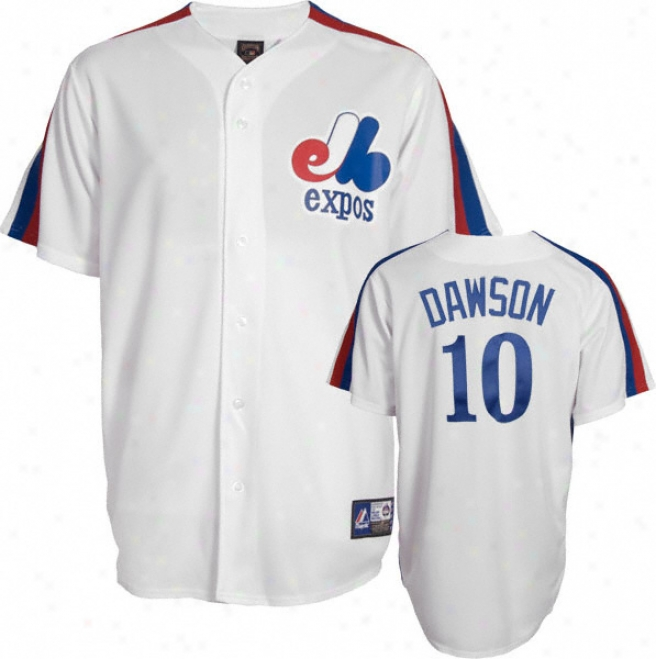 Andre Dawson Montreal Expos Cooperstown Replica Jersey