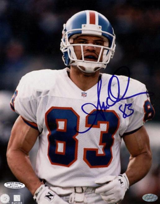 Anthony Miller Denver Broncos - Still Shot - 8x10 Autographed Pjotograph