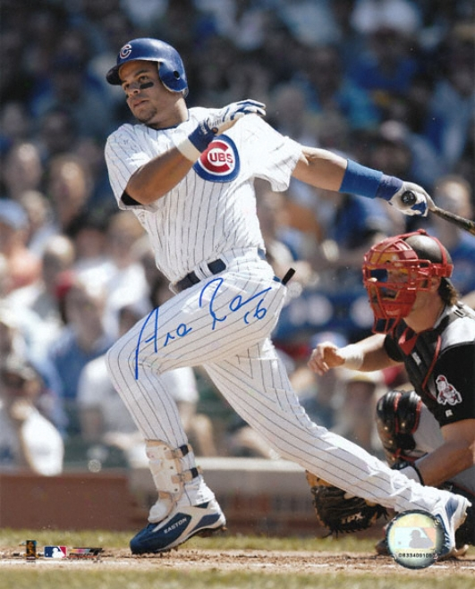 Aramis Ramirez Chicago Cubs Autographec 8x10 Photo