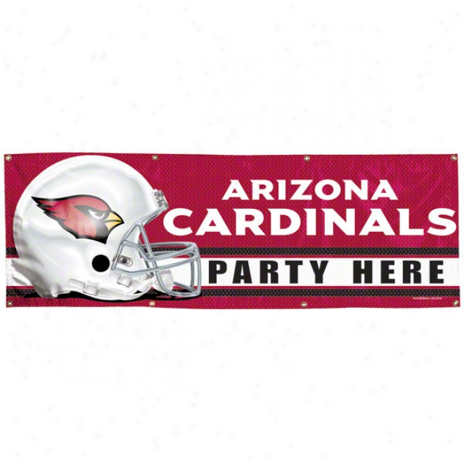 Arizona Cardinals 2x6 Vinyl Banner