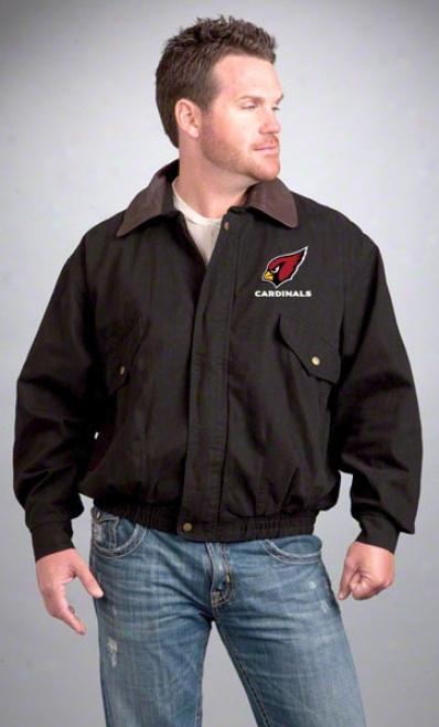 Arizona Cardinals Jacket: Black Reebok Navigafor Jacket