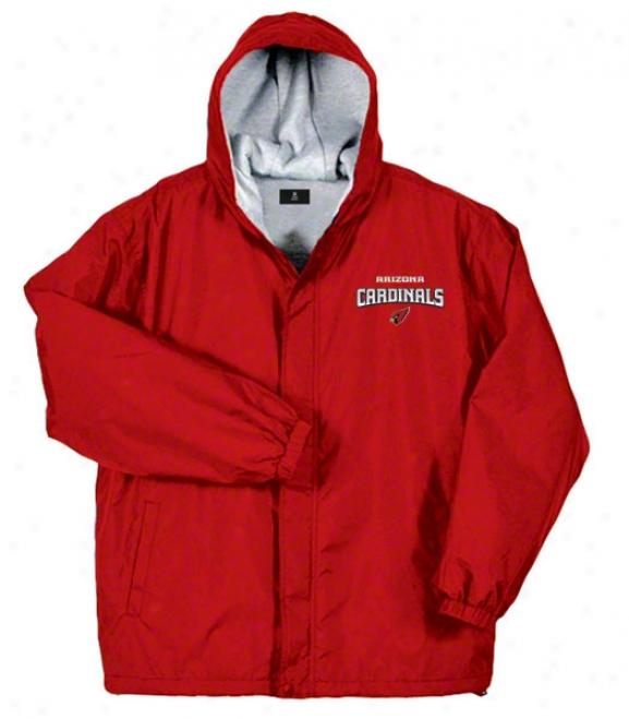 Arizona Cardinals Jacket: Red Reebok Legacy Jacket