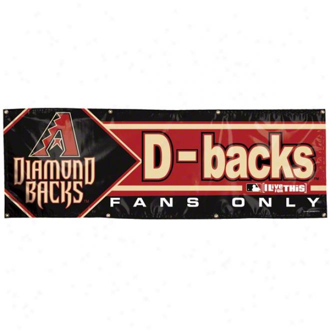 Arizona Diamondbacks 2x6 Vimyl Banner