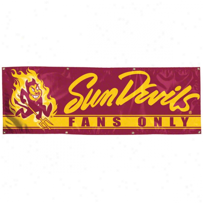 Arizona State Sun Devils 2x6 Vinyl Banner
