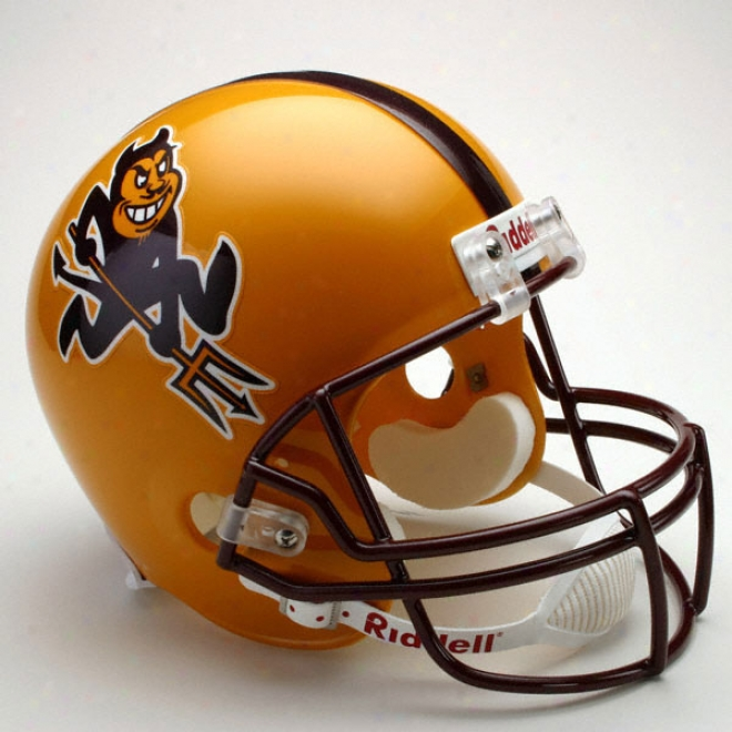 Arizona National Shn Devils Deluxe Replica Riddell Helmet
