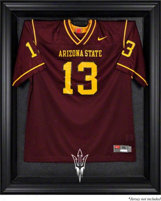 Arizona State Sun Devilw Framed Logo Jersey Display Case