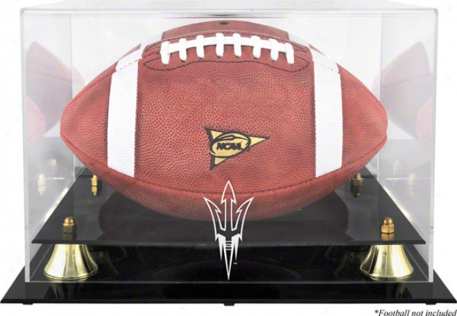 Arizona State Sunshine Devils Golden Classic Logo Football Case With Mirror Remote