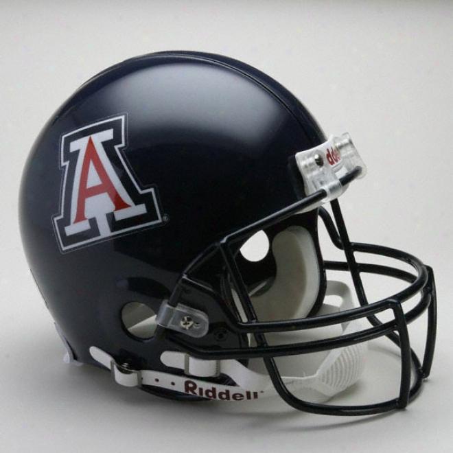 Arizona Wildcats Authentic Pro Line Riddell Full Bigness Helmet