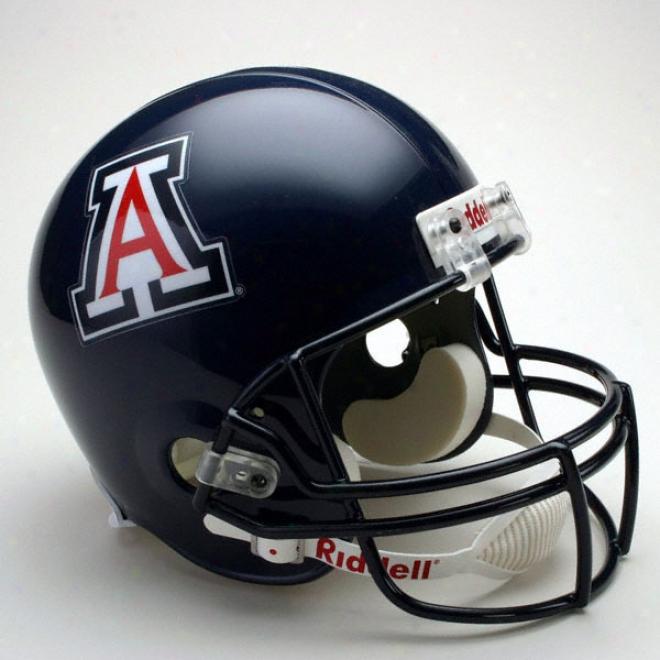 Arizona Wildcats Deluxe Replica Riddell Helmet