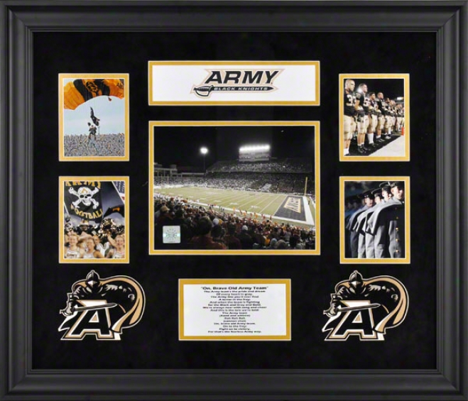 Army Black Knights 5-photograph Framed Collage