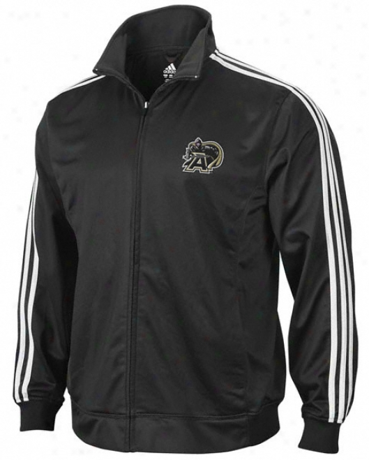 Host Black Knights Adidas Black 3-stripe Track Jacket