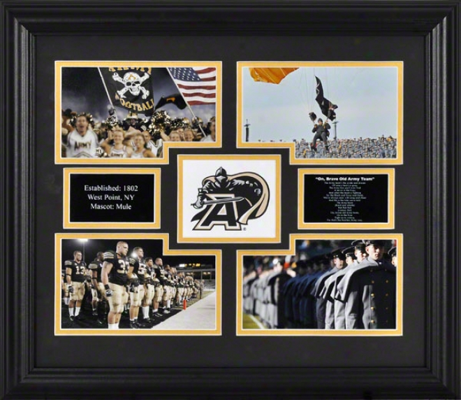 Army Black Knighgs Frameed 4-photlgraph Collage