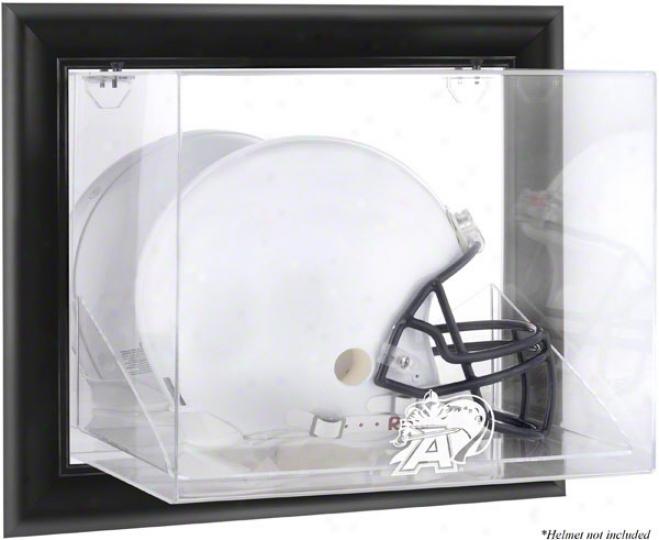 Host Black Knights Framed Wall Mouunted Logo Helmet Display Case