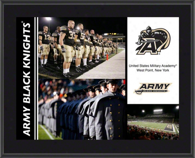 Army Wicked Knights Plaque  Details: Sublimated, 10x13, Ncsa Plaque