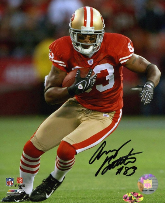 Arnaz Battle San Francisco 49ers Autographed 8x10 Photohraph