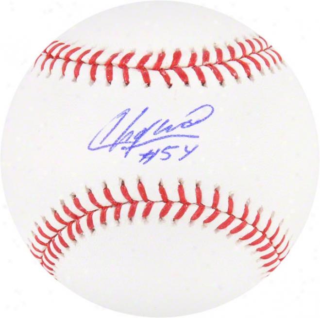 Aroldis Chapman Autographed Baseball