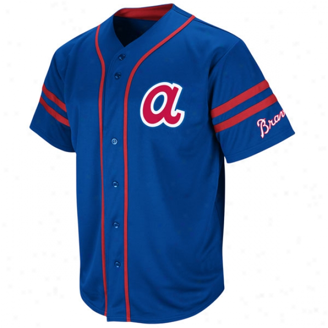 Atlanta Braves Cooperstown Heater Fashion Jersey